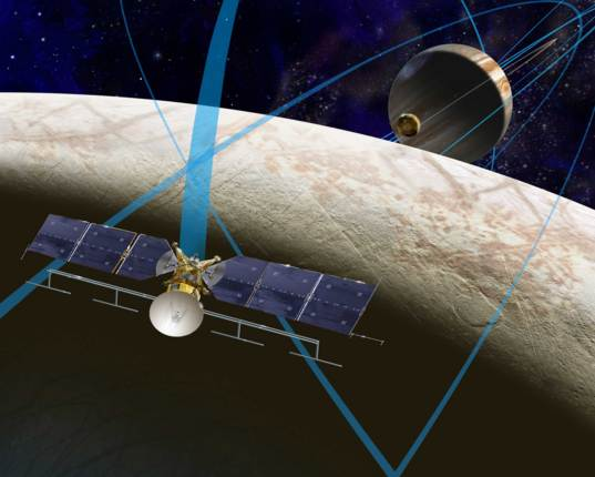 Current concept for the Europa Clipper spacecraft