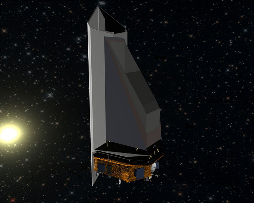 Artist's concept of NEOCam