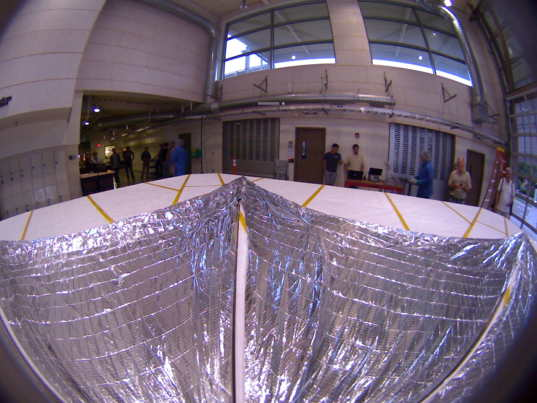 Final LightSail onboard camera image