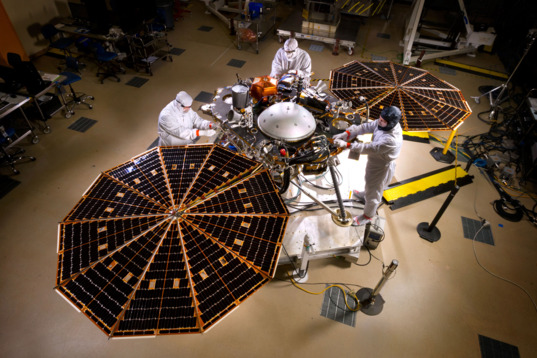 InSight assembled