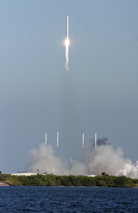 Falcon 9 launches, December 8, 2010