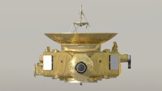 New Horizons spacecraft front (+X) view