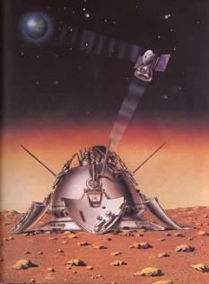 Mars 3 artist concept