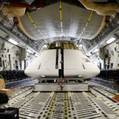 Orion parachute test, Yuma, Arizona
