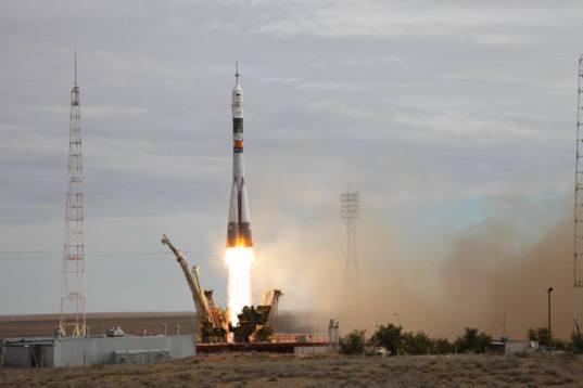 Soyuz TMA-18M liftoff