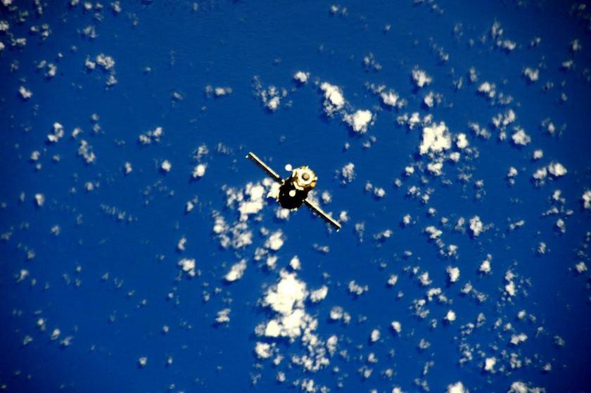 Soyuz TMA-16M departure shot 2