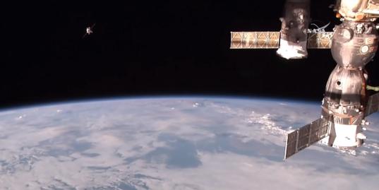 Progress M-29M ISS approach