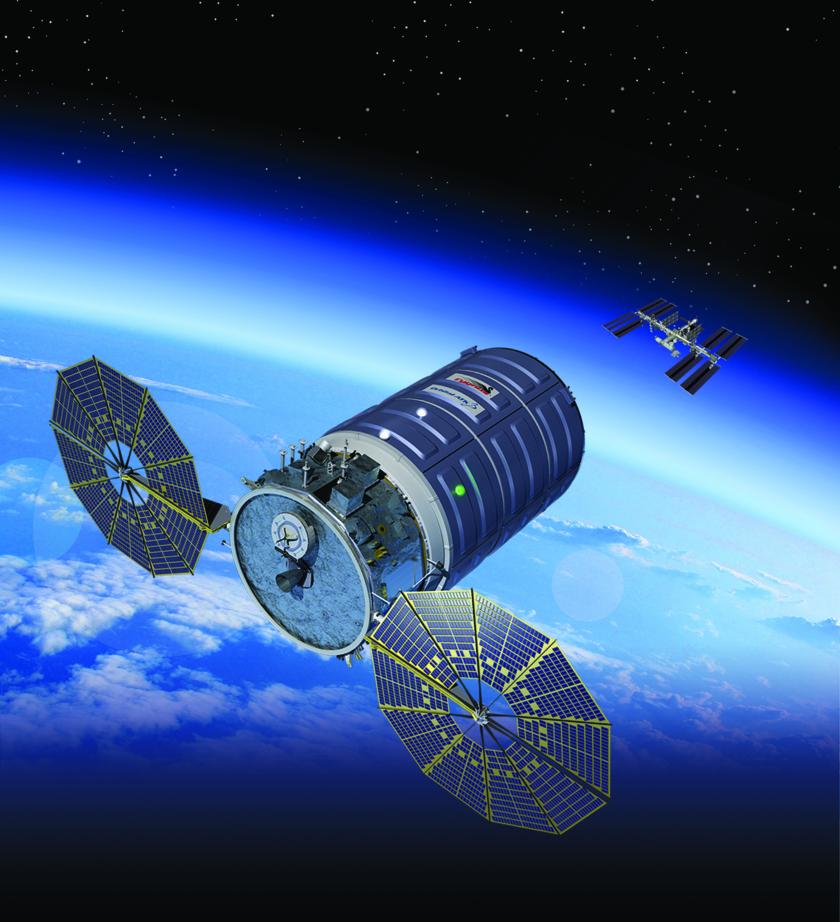 Enhanced Cygnus spacecraft