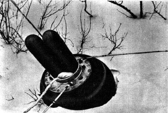 Sample return capsule from Luna 20