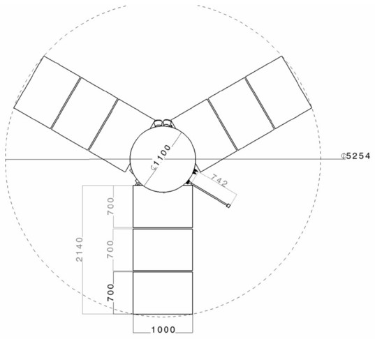 Io flyby spacecraft diagram