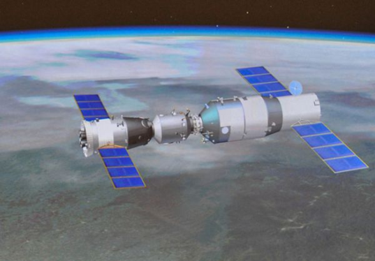 Tiangong-1 and Shenzhou-10