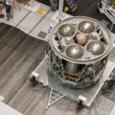 Orion ESM test article