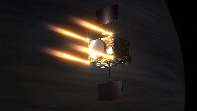 Akatsuki attempting orbit insertion