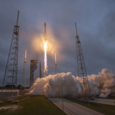 Atlas V launches with Cygnus