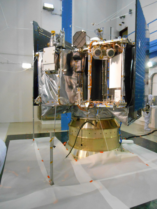 OSIRIS-REx at RAL facility