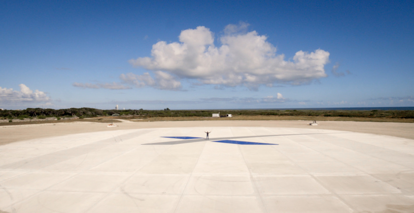 SpaceX Landing Zone 1