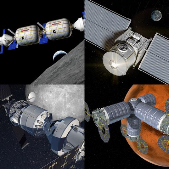 NASA NextSTEP EAM habitat concepts