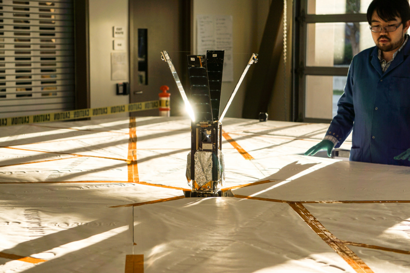 LightSail sail deployment test-3