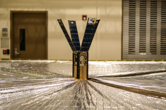 LightSail sail deployment test-4