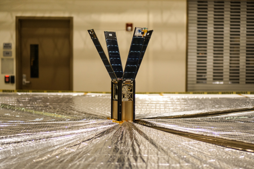 LightSail sail deployment test