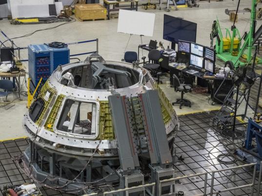 Orion EM-1 cone panels
