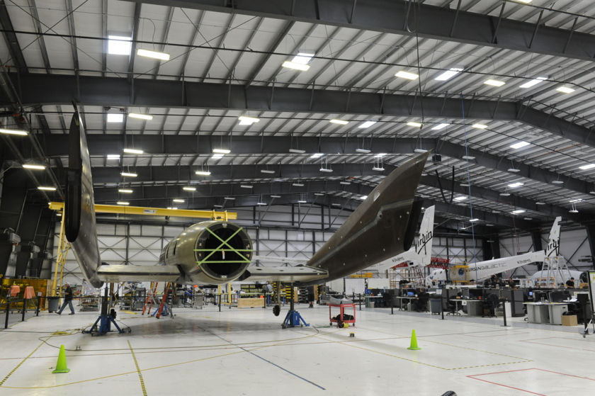 Second SpaceShipTwo under construction - 3