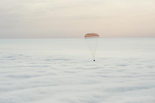 Soyuz TMA-18M landing