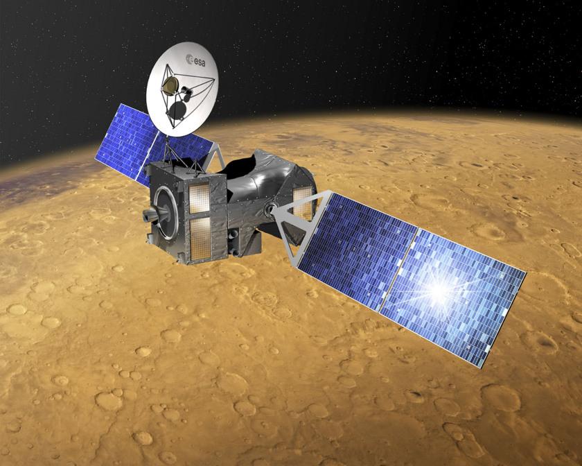 ExoMars Trace Gas Orbiter at Mars