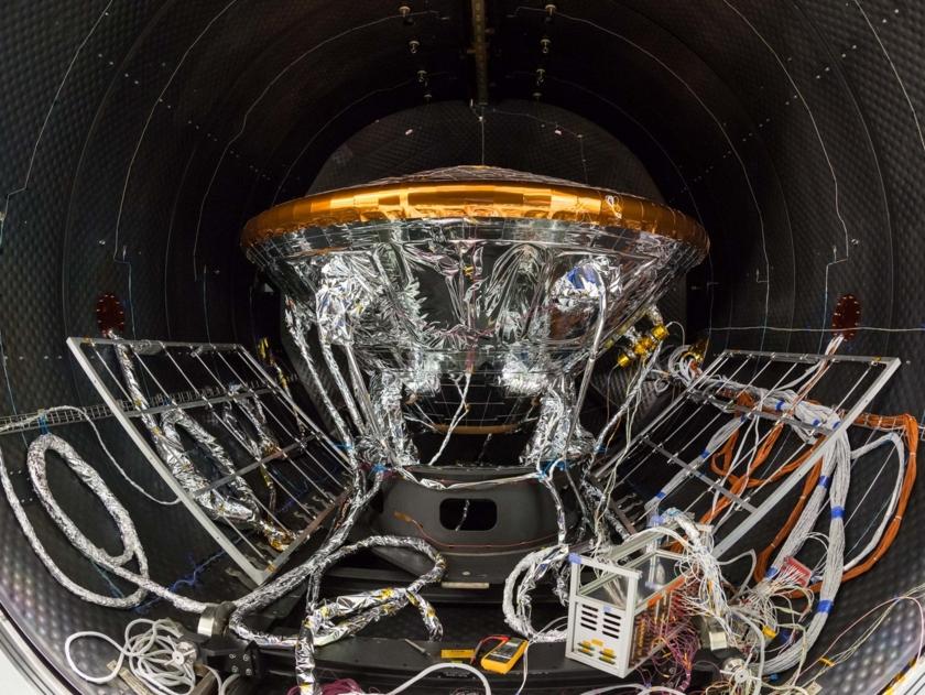 Schiaparelli prepares for thermal tests