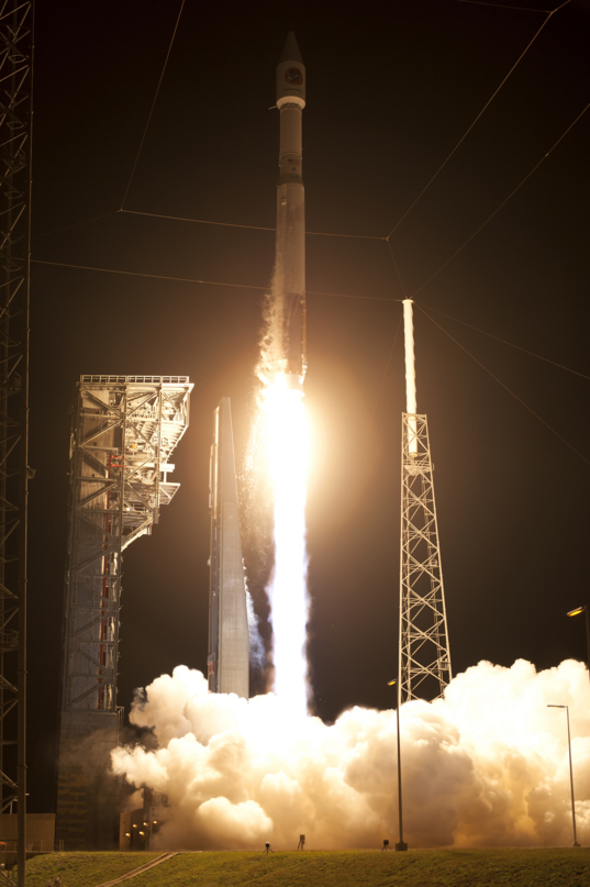 Orbital ATK Cygnus CRS-6 launch: ascent