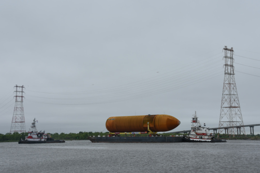 ET-94 heads into the Intracoastal Waterway