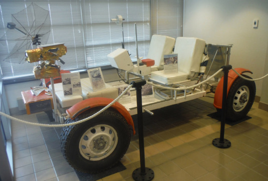 Grover the rover, used by Apollo astronauts to prepare for lunar surface operations