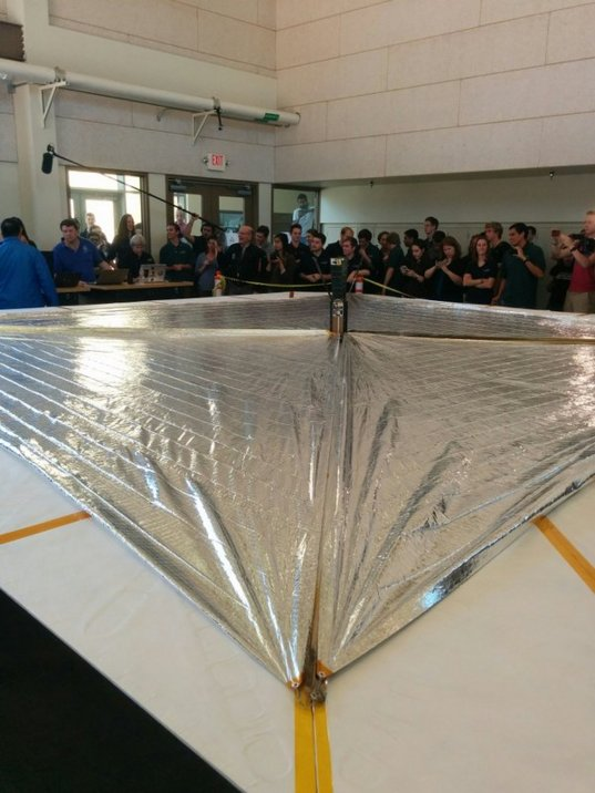 LightSail 2 successfully deployed its sails in the May 23rd Day In The Life Test