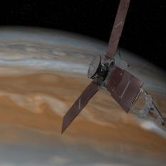 Juno close to Jupiter