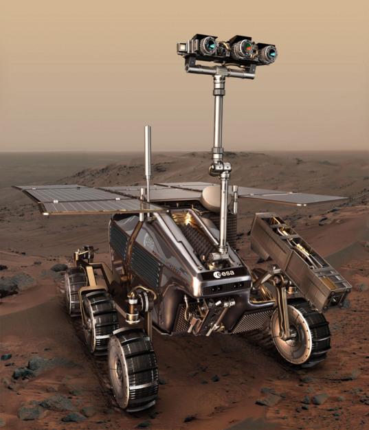 ExoMars rover artist concept