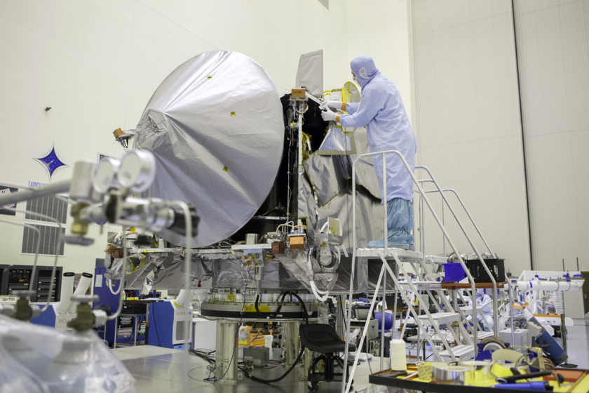 Covering OSIRIS-REx in blankets