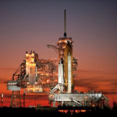 Sunset on the shuttle program