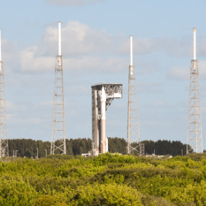 OSIRIS-REx on the launch pad