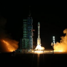 Tiangong-2 launch