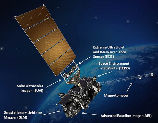 Artist's rendition of GOES-R