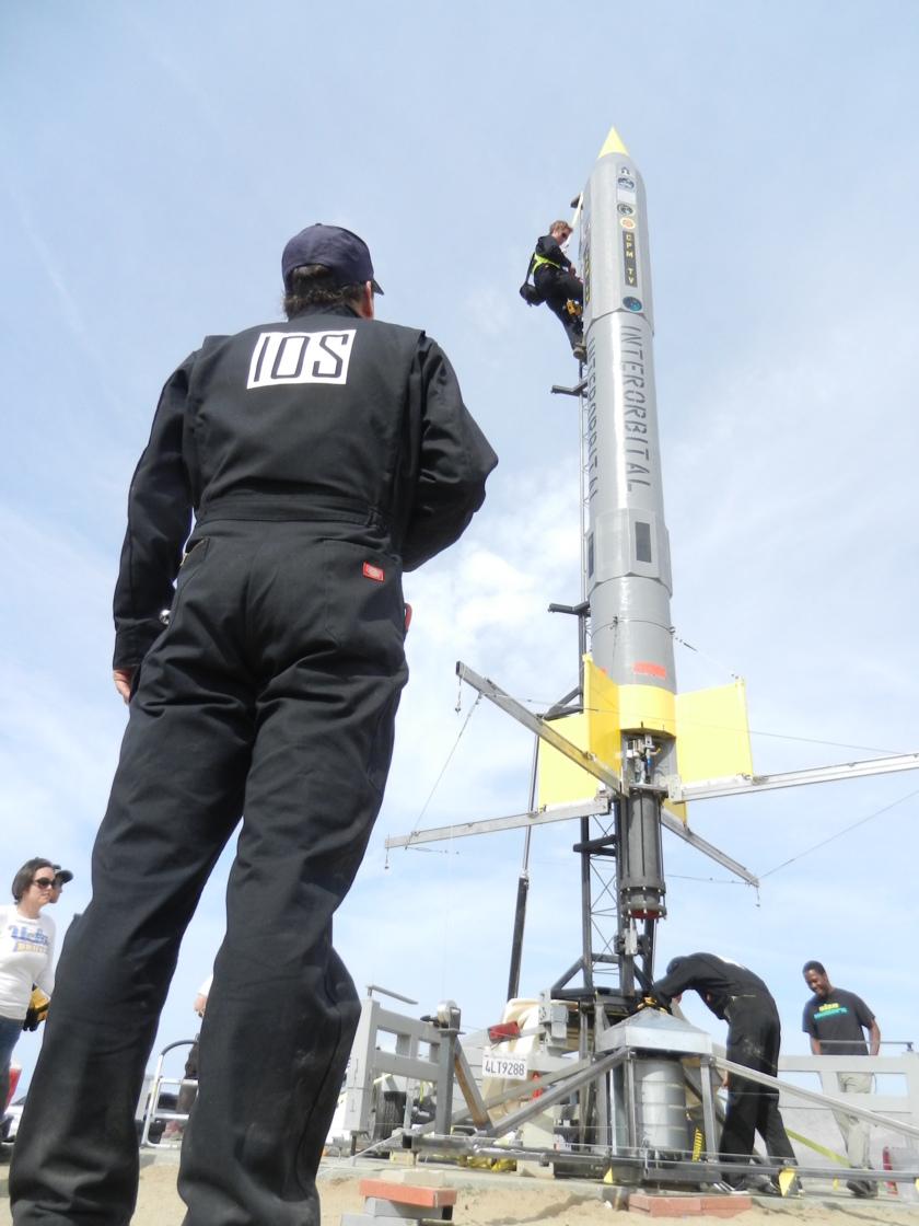 IOS CTO Roderick Milliron supervises launch preparations