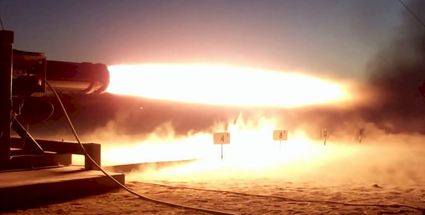 Engine test firing