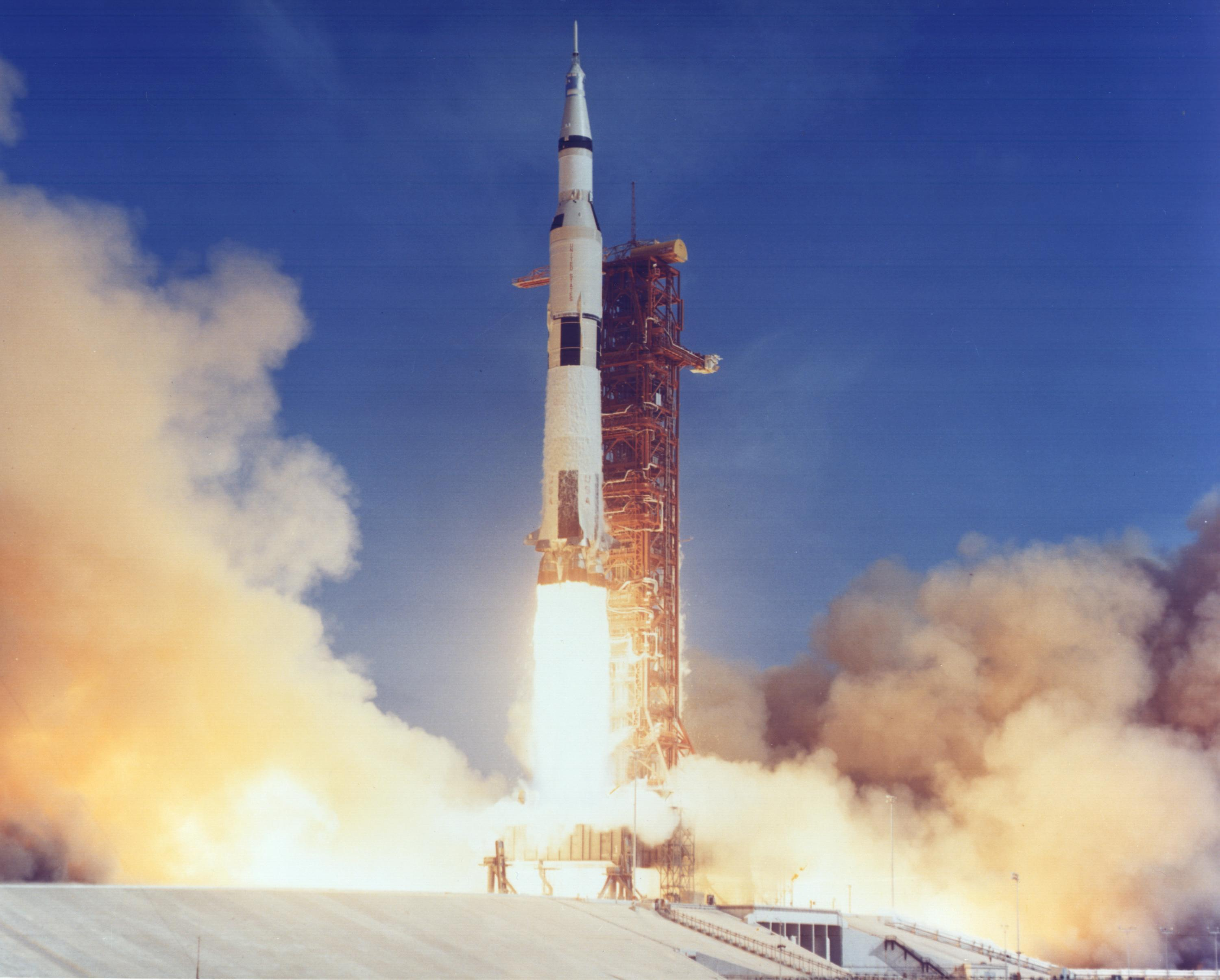 Apollo 11 liftoff from pad 39A | The Planetary Society