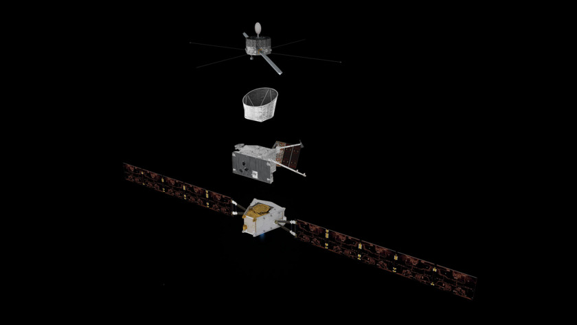 BepiColombo (exploded view)
