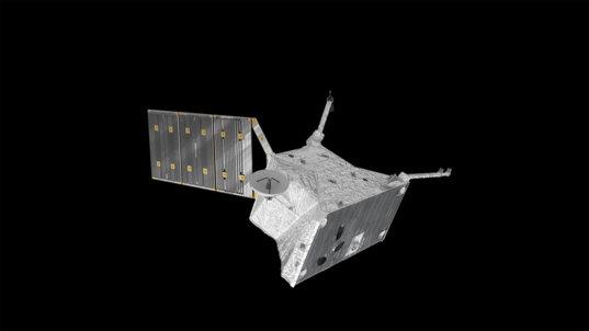 BepiColombo's Mercury Planetary Orbiter (top view)