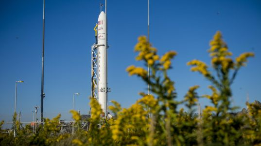 Antares on the Launch Pad
