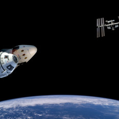 Boeing CST-100 Starliner and the SpaceX Crew Dragon
