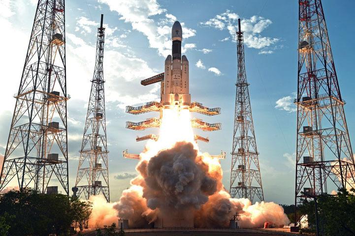 GSLV-MK3-D1 liftoff!
