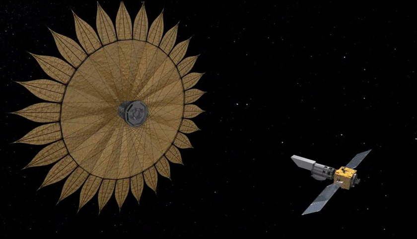 Artist's concept of a Starshade