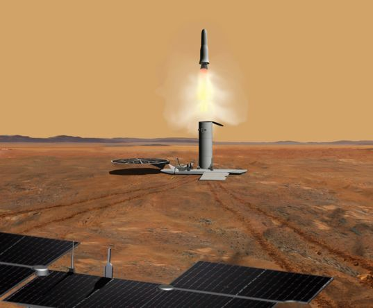 Mars Sample Return concept 2